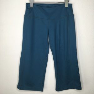 Athleta Wide Leg Crop Yoga Pants